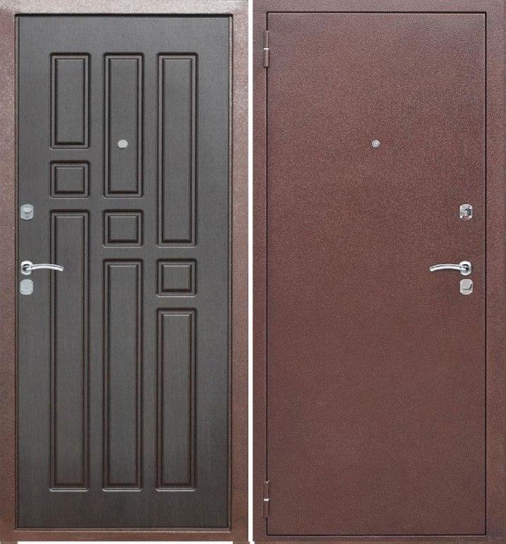 железные двери из металла 2мм